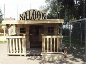 Saloon klein
